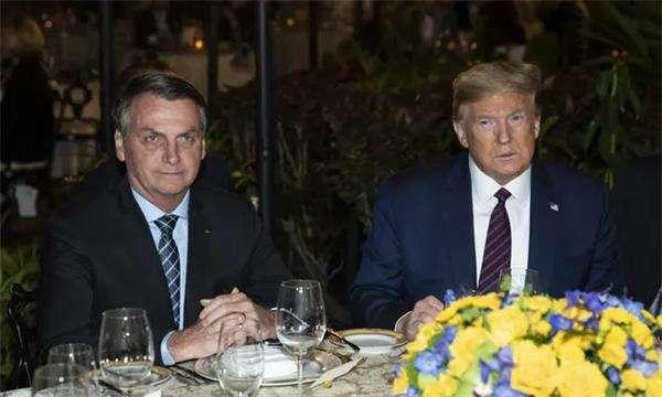 英媒:巴西总统博索纳罗新冠病毒检测呈阳性,7日曾与特朗普共进晚餐